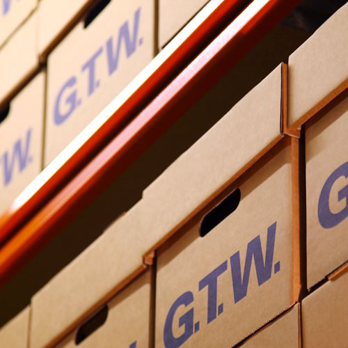 GTW Storage website design